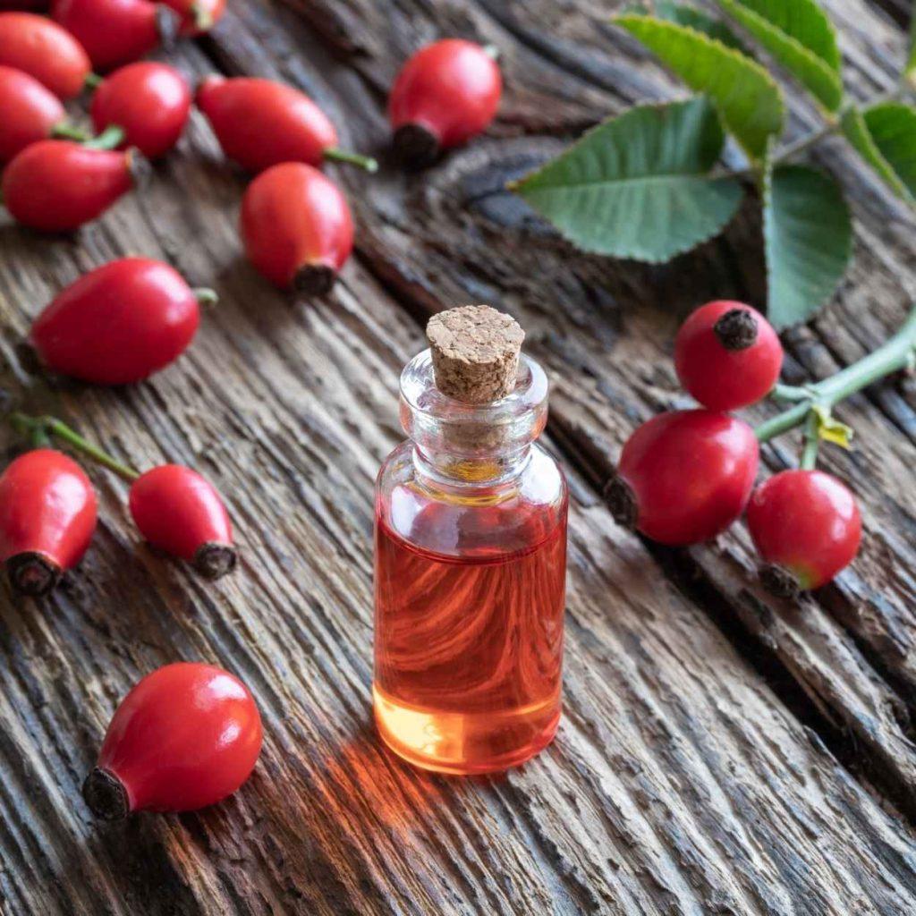 masaje con aceite esencial de rosa mosqueta en castelldefels